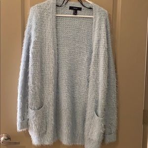 Fuzzy Forever21 Cardigan. Size S